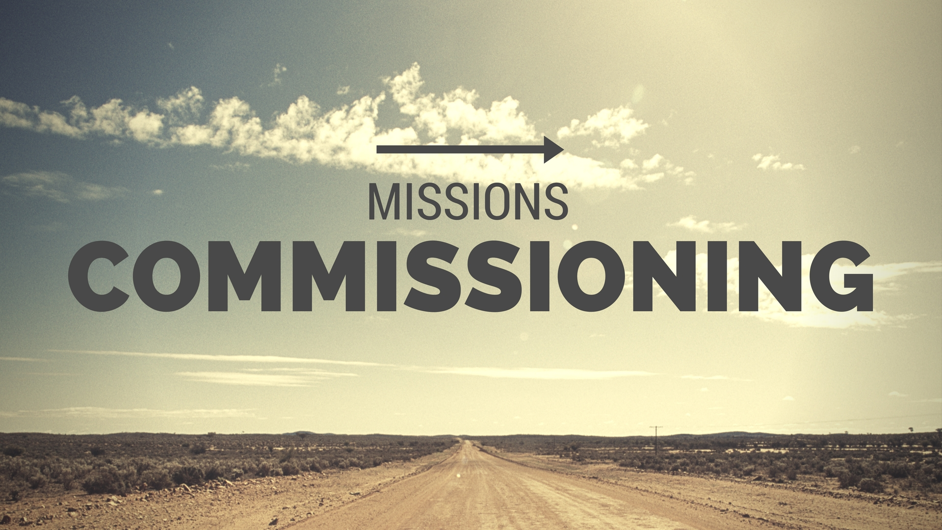 Missions Commissioning 2017